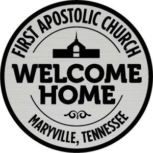 First Apostolic Church Shaped Other badge