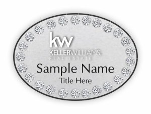 Keller Williams Beverly Hills Oval Silver badge