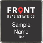 Front Real Estate Co. Square Executive Black badge