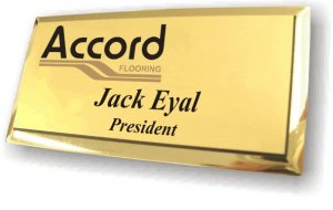 Accord Flooring Gold Executive Badge