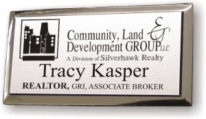 Silverhawk Comm. Land Develop. Silver Executive Badge