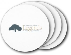 Greenhill School Coasters (5 Pack)