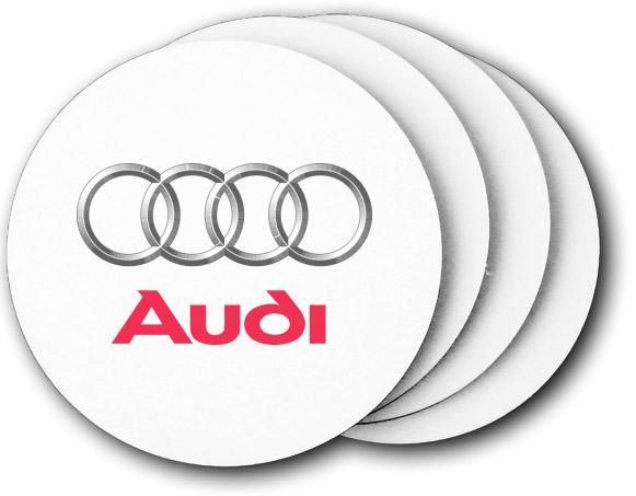 Audi Of Fairfield Coasters Pack Custom Name Badges - Fairfield audi