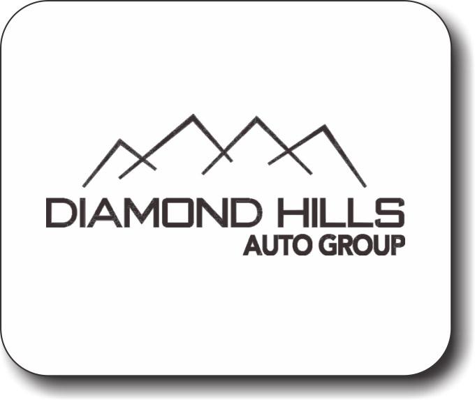 diamond hills auto group mousepad nicebadge nicebadge