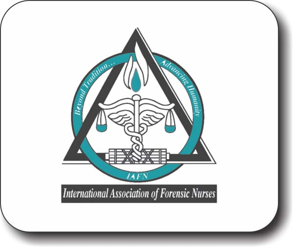 International Association Of Forensic Nurses Mousepad 15 95 Nicebadge