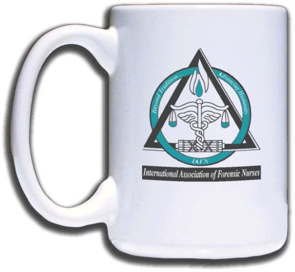 International Association Of Forensic Nurses Mug 15 95 Nicebadge