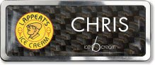 Carbon Insert Name Badge