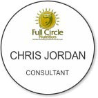 Gold Shaped Circle Name Badge