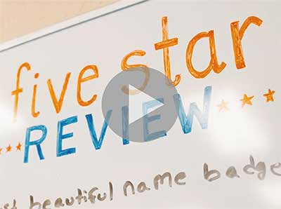 See our High Quality Name Badges - Video