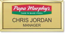 Custom Executive Name Badge