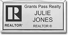 Realtor Name Badge