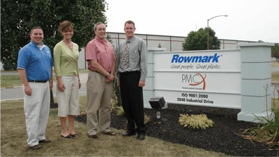 Lowell goes to Rowmark Factory in Ohio
