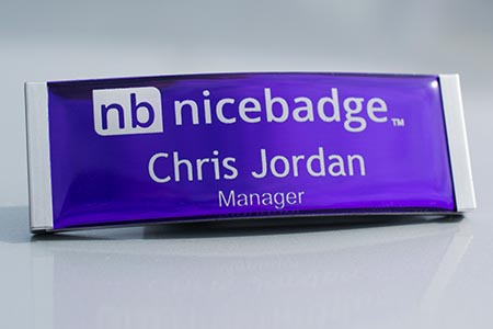 Meridian Name Badge 1