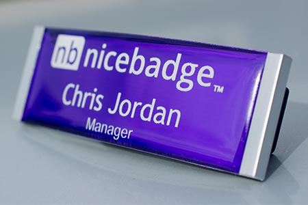 Meridian Name Badge 2
