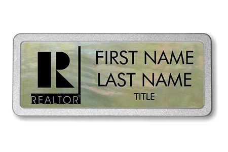 Mother of Pearl Name Badge 4