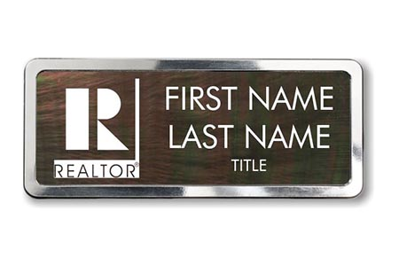 Mother of Pearl Name Badge 5