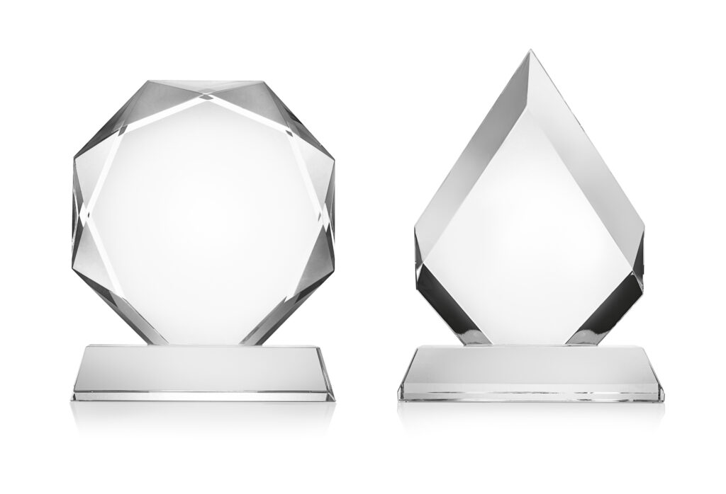 custom crystal awards